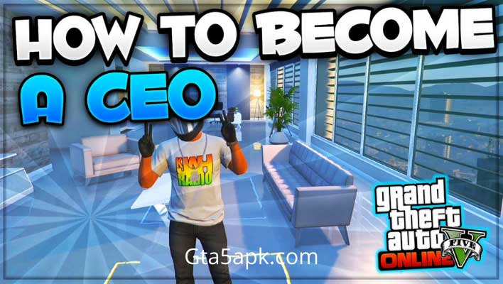 How to become a CEO in GTA5